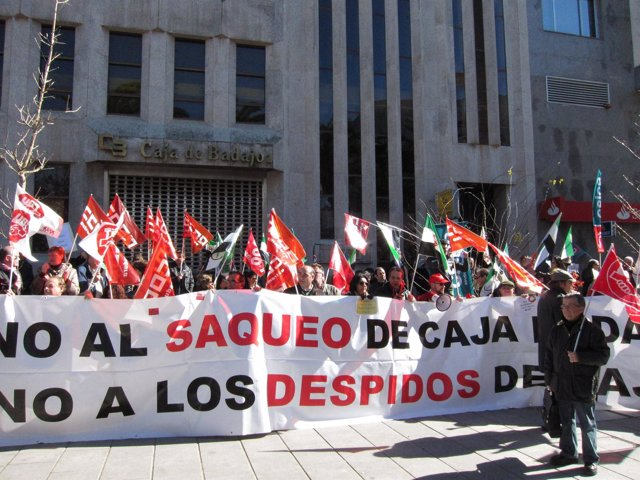 Huelga Caja Badajoz