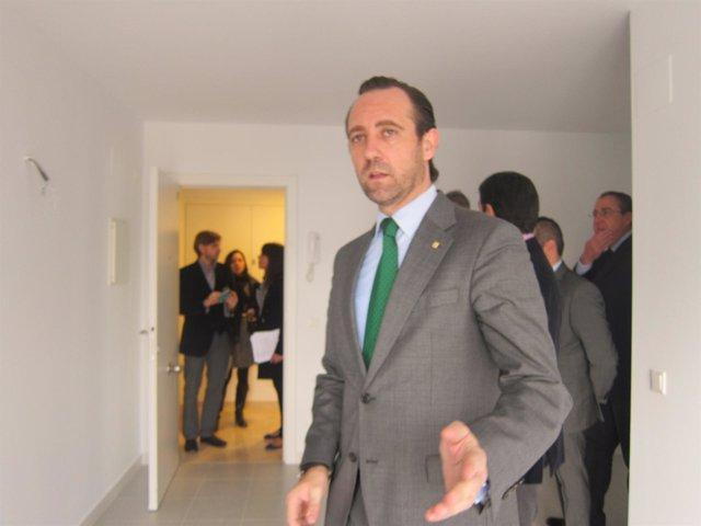 Bauzá visita una VPO