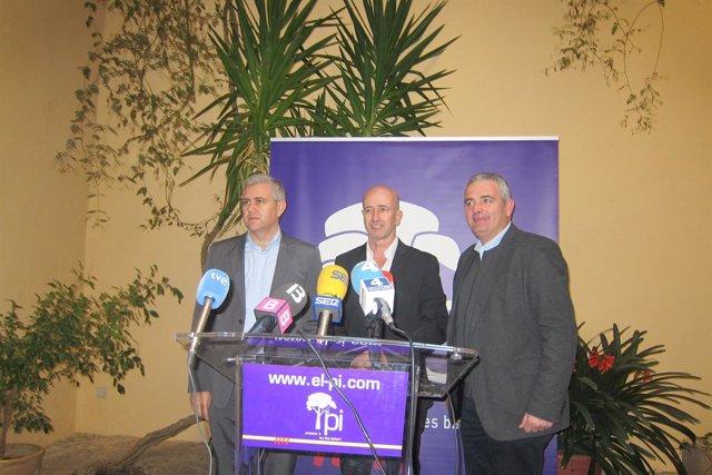 Josep Melià, Antoni Pastor y Jaume Font
