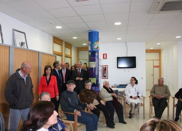 Valcárcel inagura el nuevo Centro de Mayores y de Día de Las Torres de Cotillas
