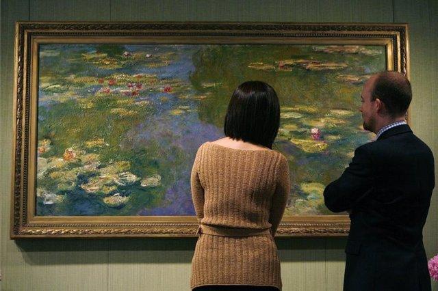 El Cuadro 'Le Bassin Aux Nymphéas' de Claude Monet