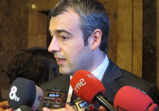 Maurici Lucena, portavoz del PSC en el Parlament