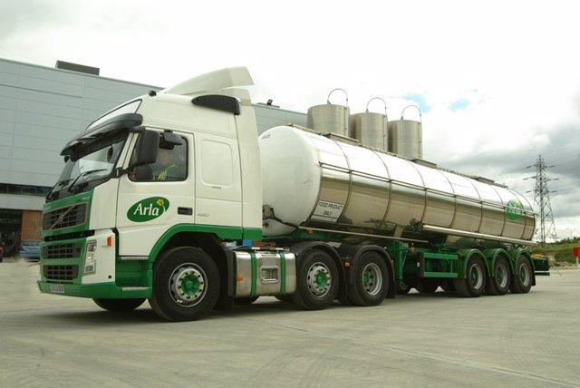 Camión Arla Foods amba