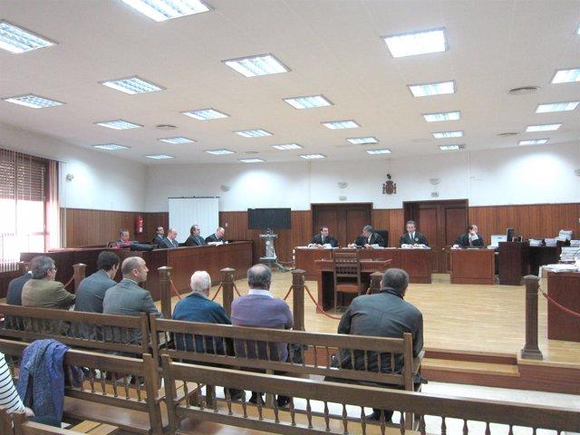 Juicio del 'caso Almazaras'