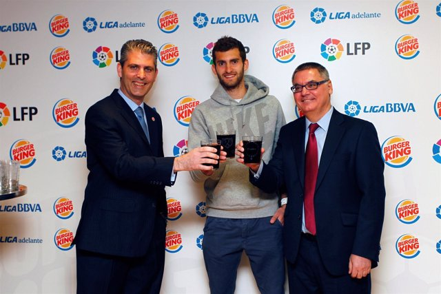 Leo Baptistao Rayo Vallecano Burger King Francisco Roca Leo León