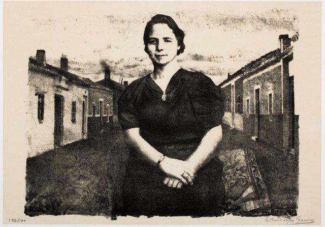 Obra de Antonio López que se puede ver en la exposición