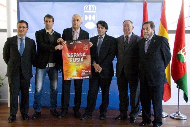 Presentación del partido de la selección sub-21 en Alcorcón