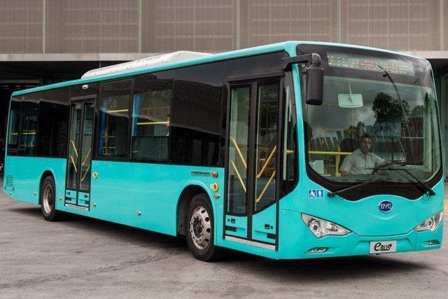 El nuevo autobús eléctrico fabricado en China