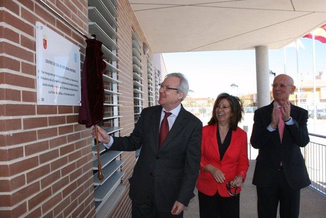 Valcárcel inaugura nuevo Centro de Día y Social de Las Torres de Cotillas
