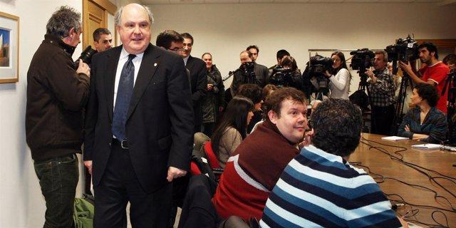 El rector de la Universidad de Deusto, Jaime Oraá