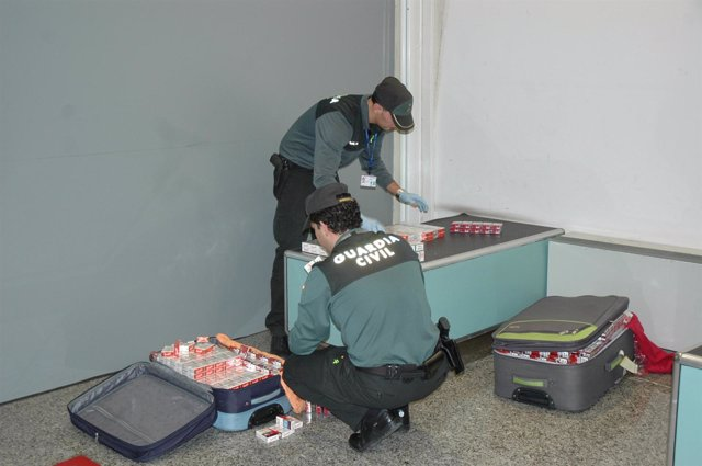 La Guardia Civil requisa tabaco