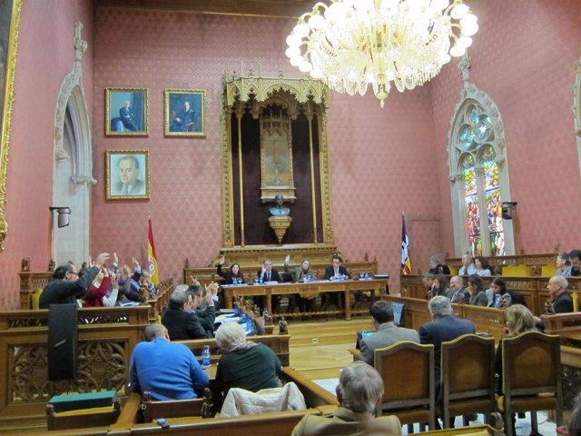 Pleno consell de Mallorca