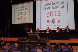 La junta general de Banco de Valencia aprueba las cuentas de 2012, la gestión del FROB y los nuevos consejeros