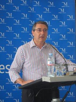 Francisco Salado, en rueda de prensa