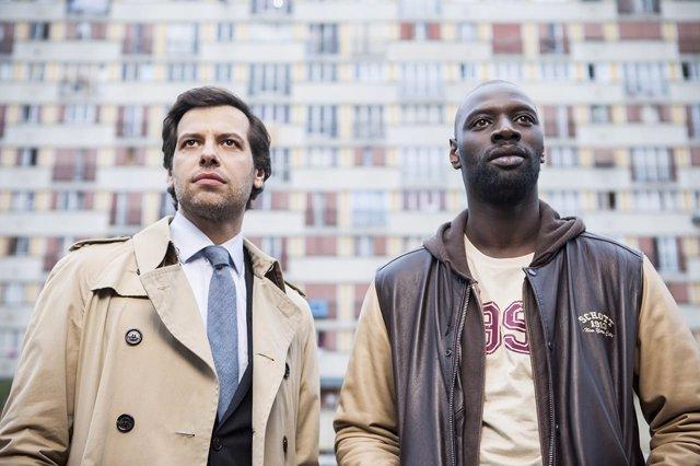 Omar Sy y Laurent Lafitte en Incompatibles