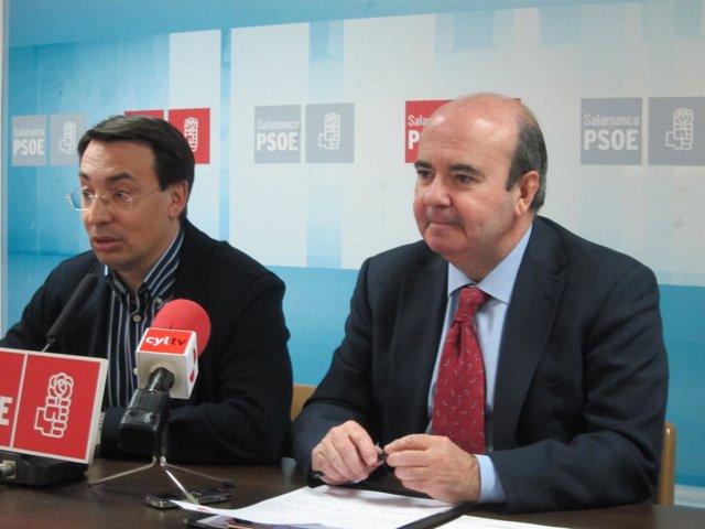 Fernando Pablos y Gaspar Zarrías