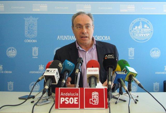 Juan Pablo Durán en la rueda de prensa