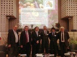 El Conseller Josep Maria Pelegrí Con Otros Miembros De La AREFLH