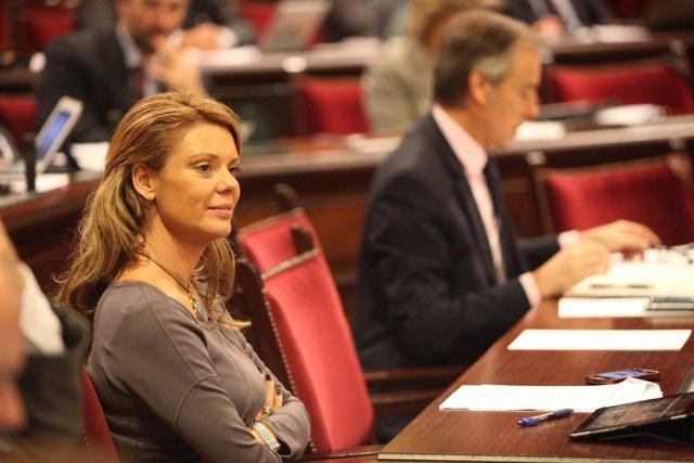 Aina Aguiló, parlamentaria del PP