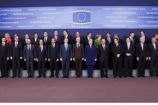 Rajoy en la reunión del Consejo Europeo