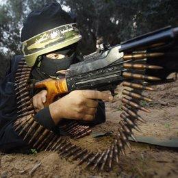 Guerrillero de Hamas