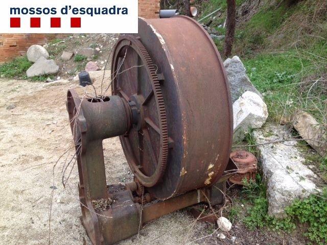 La máquina panificadora recuperada en Tarragona