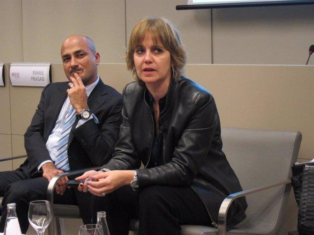 La directora de relaciones institucionales Tous, Rosa Tous