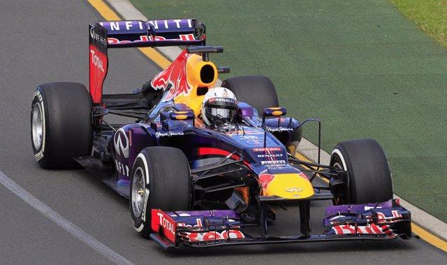 Red Bull Sebastian Vettel Gran Premio Australia