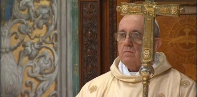 Primera misa del Papa Francisco