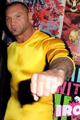 El exluchador de wrestling Dave Bautista