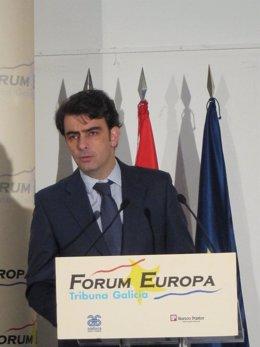 El presidente de la Diputación de A Coruña, Diego Calvo