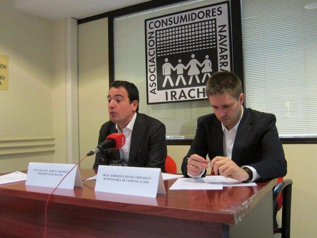 Manuel Arizcun y Alberto Lázcoz, de Irache