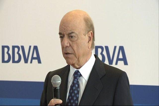 El Presidente Del BBVA, Francisco González