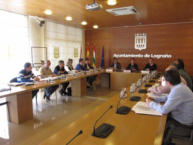 Imagen de la reunión del grupo de trabajo del Plan de Infraestructuras