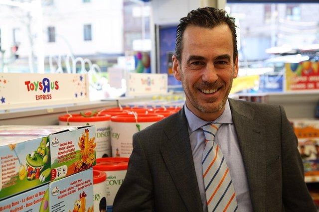 "Juan Arrizabalaga, Director General de Toys ""R"" Us Iberia"