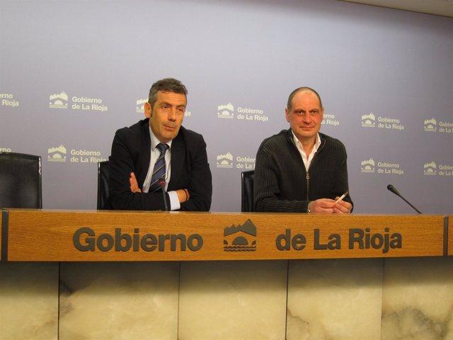 García del Valle y Martínez Miguel explican proyecto empleo con USO