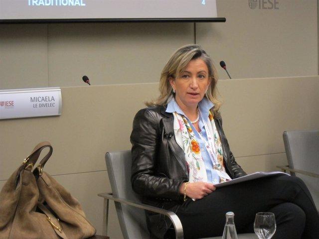 La vicepresidenta de Gucci, Micaela Le Divelec