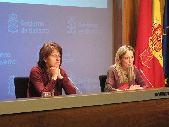 Marta Vera y Cristina Ibarrola.