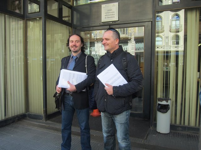 Daniel Laspra y Toni Albà