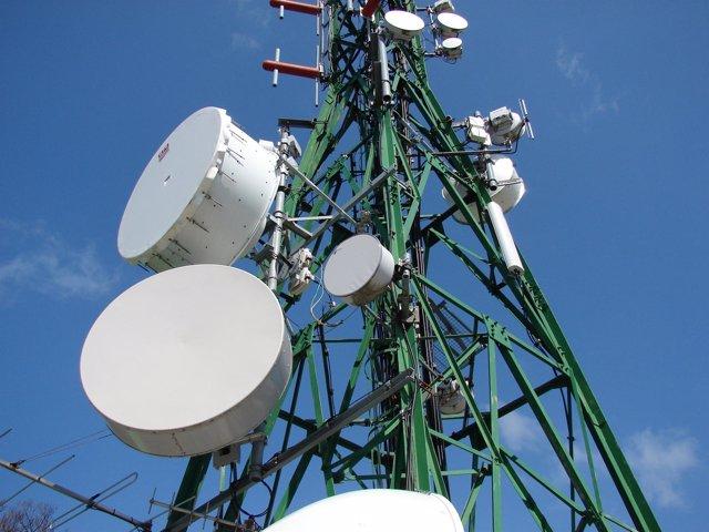 Centro de telecomunicaciones de Ibañeta, gestionado por Nasertic.