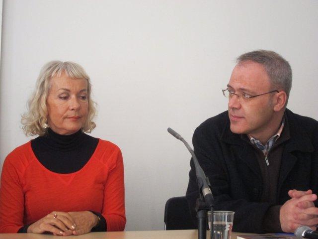 Monila Zgustova y Josep Lluch