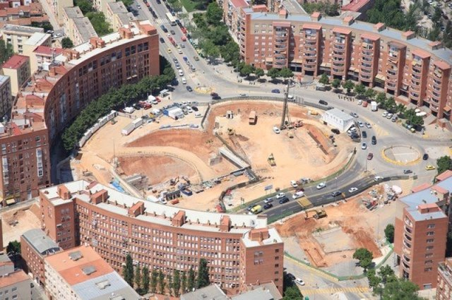 Obras de FGC en Sabadell