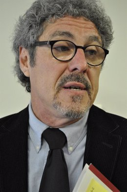 Gregorio Briz, diputado de CHA en las Cortes de Aragón