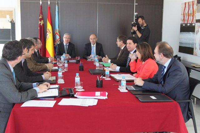 Consejo de Gobierno celebrado en San Javier