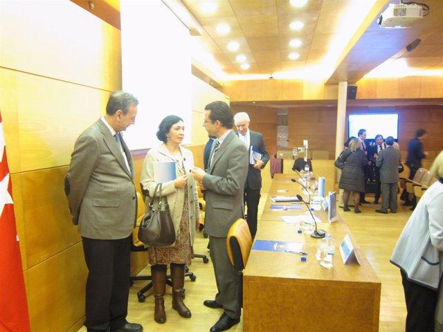 Lasquetty tras la presentación del Plan Estratégico en EPOC