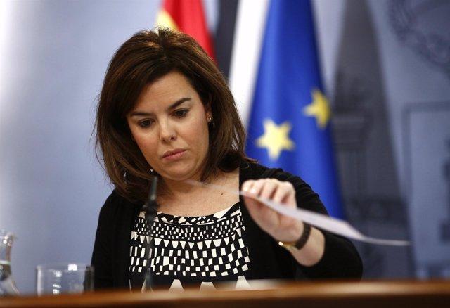 Soraya Saénz de Santamaría