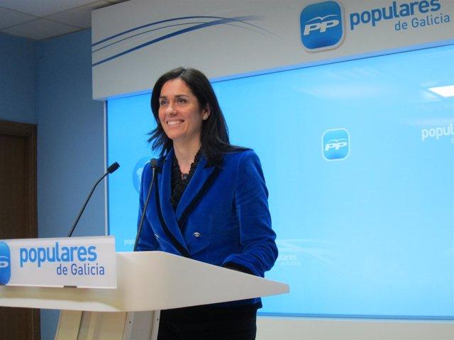 Paula Prado, portavoz del PPdeG