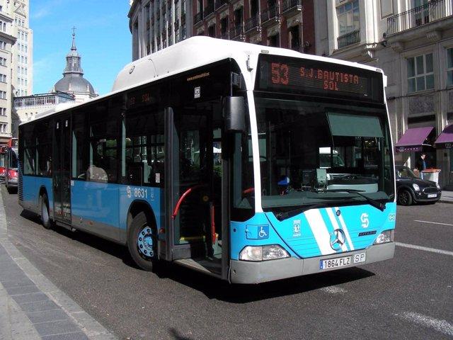 Autobús de la EMT de Madrid