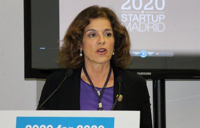 Ana Botella Acto Madrid2020 en BID