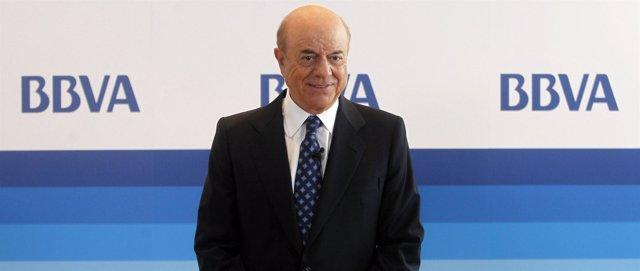 Francisco González, presidente de BBVA en la junta general de accionistas